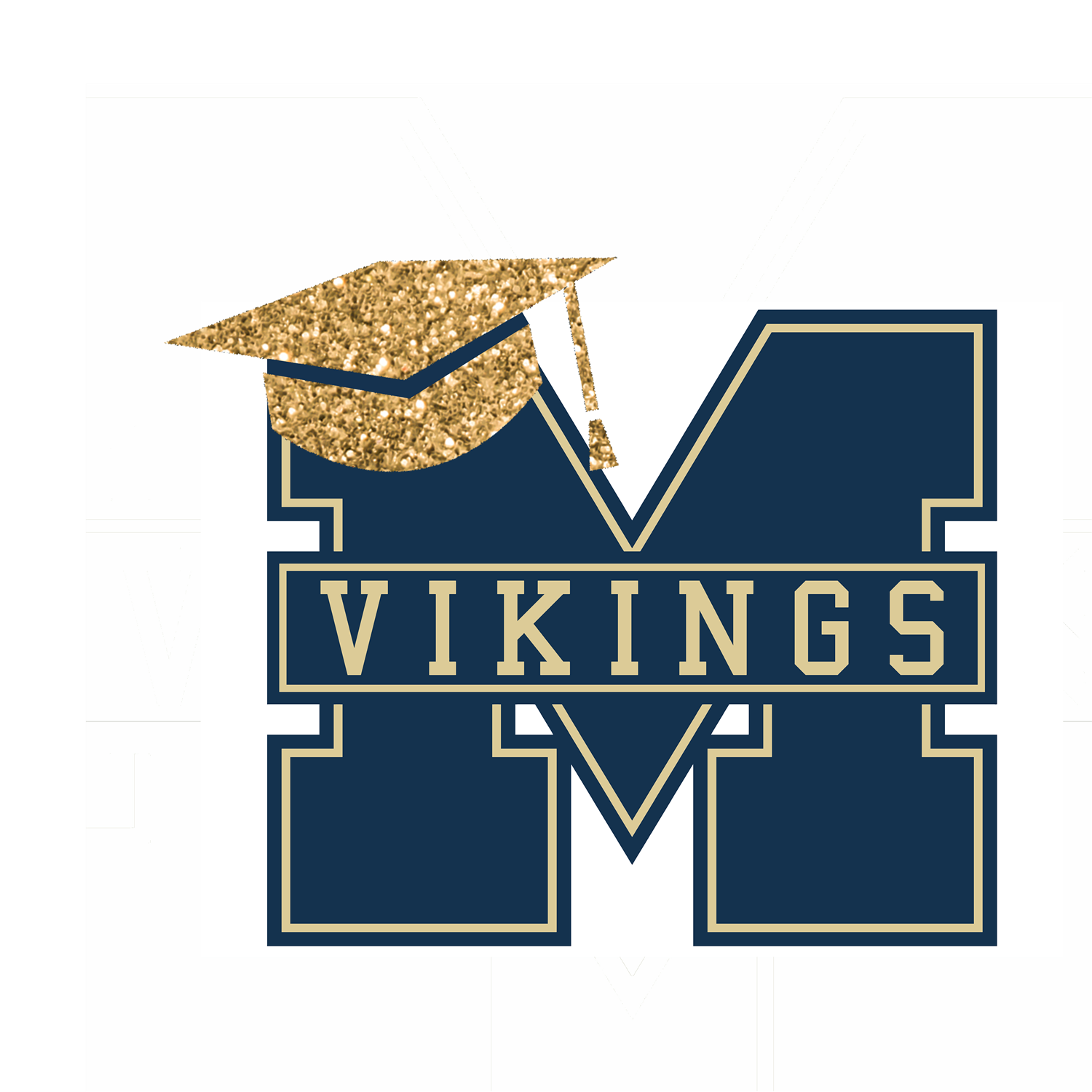 Middleton M Logo with graduation hat on top