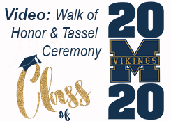Video-Walk of Honor & Tassel Ceremony