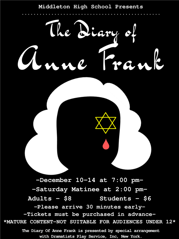 Middleton High School Presents - The Diary of Anne Frank