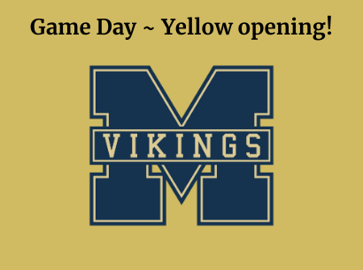 Game Day ~ Yellow Opening