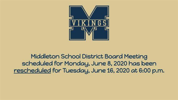 Middleton School District / Homepage
